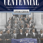 Cover design for Phi Beta Sigma centennial book